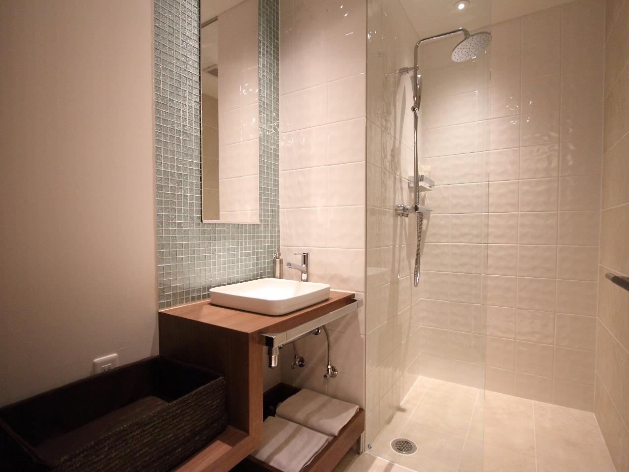 シャワールームご利用無料